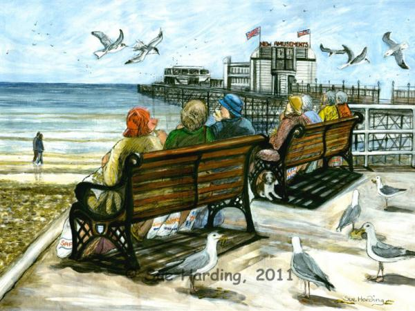 Ladies who lunch, Worthing